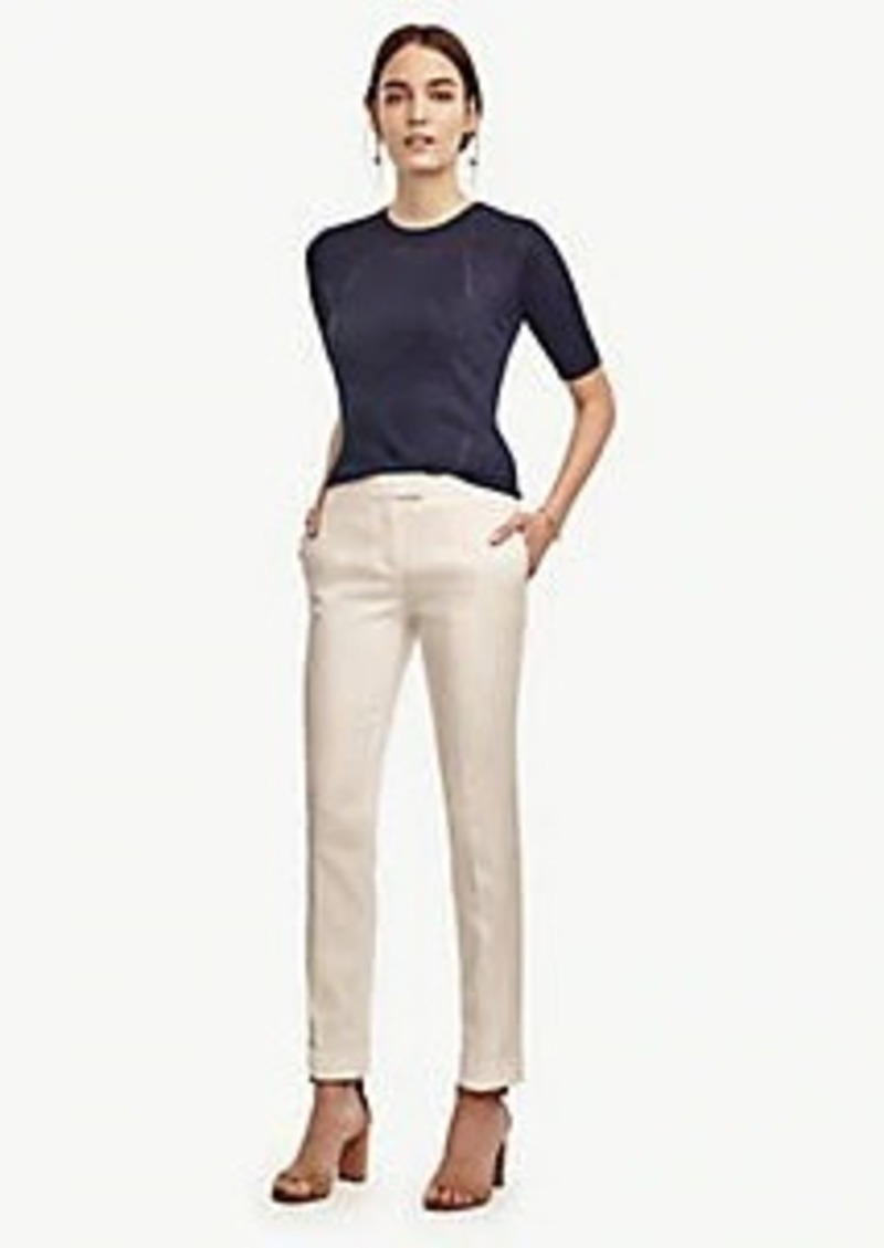 Ann Taylor Cuffed Everyday Slim Ankle Pants