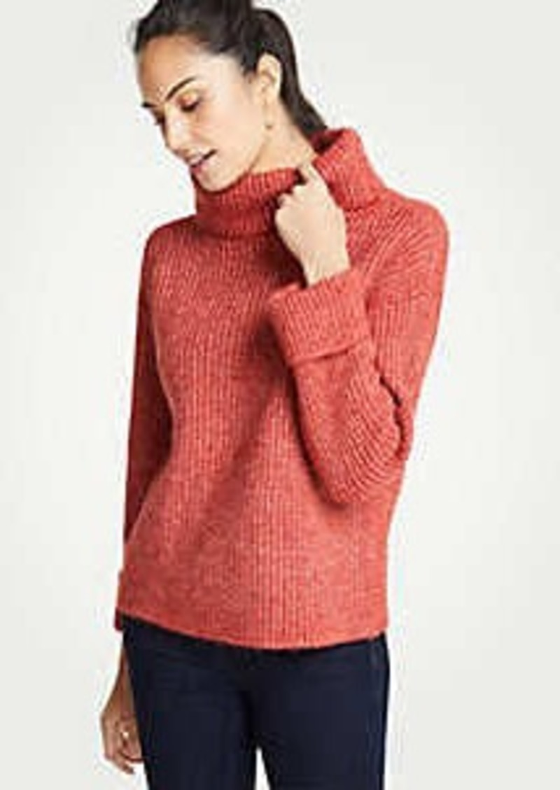 Ann Taylor Cuffed Turtleneck Sweater