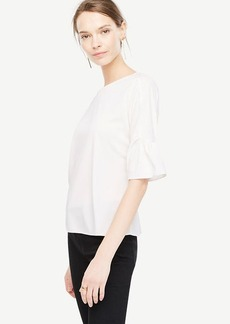 Curved Sleeve Top