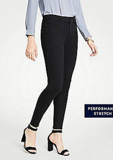 Ann Taylor Curvy Performance Stretch Skinny Jeans In Black