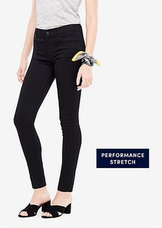 Ann Taylor Curvy All Day Skinny Jeans in Jet Black