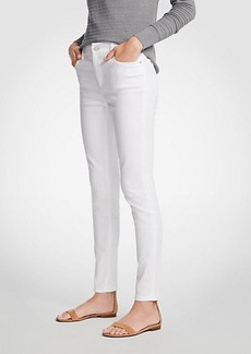Ann Taylor Curvy All Day Skinny Jeans In White