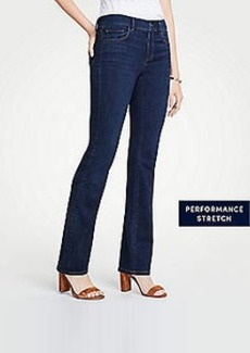 7cd6392a68 Ann Taylor Curvy Performance Stretch Boot Cut Jeans in Classic Mid Indigo  Wash