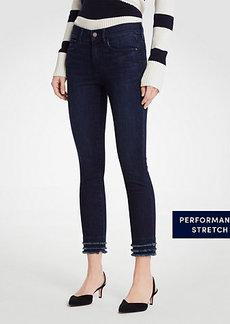 Curvy Fringe All Day Skinny Crop Jeans