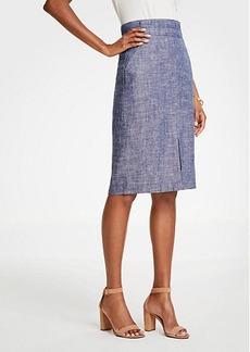 Ann Taylor Curvy Paper Bag Skirt