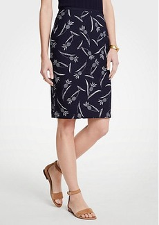 Ann Taylor Curvy Pineapple Pencil Skirt