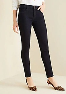 Ann Taylor Curvy Sculpting Pockets Skinny Jeans in Classic Rinse Wash
