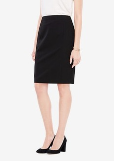 Ann Taylor Curvy Seasonless Stretch Seamed Pencil Skirt