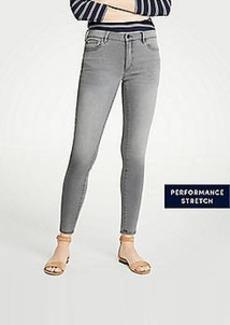 Ann Taylor Curvy Skinny Jeans In Mid Grey Wash