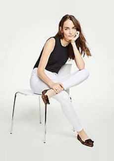 Ann Taylor Curvy Skinny Jeans In White