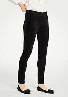 Ann Taylor Curvy Skinny Velvet Jeans