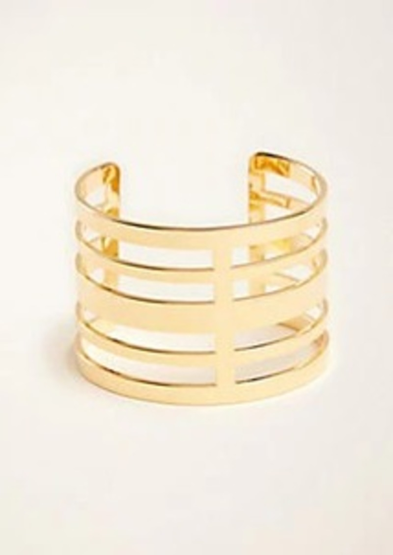 Ann Taylor Cutout Cuff Bracelet