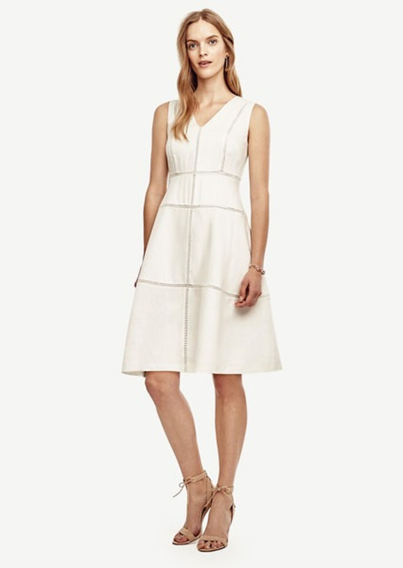 Ann Taylor Cutout Flare Dress