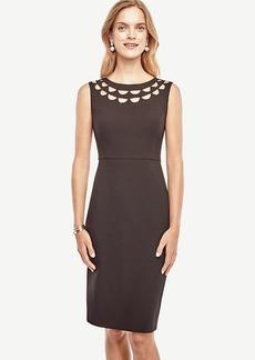 Cutout Scalloped Dress