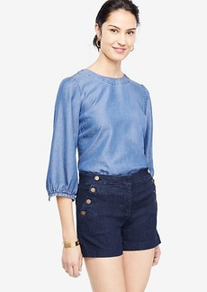 Ann Taylor Denim Sailor Shorts