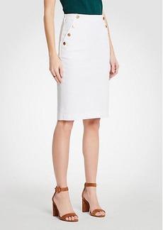 Ann Taylor Denim Sailor Skirt
