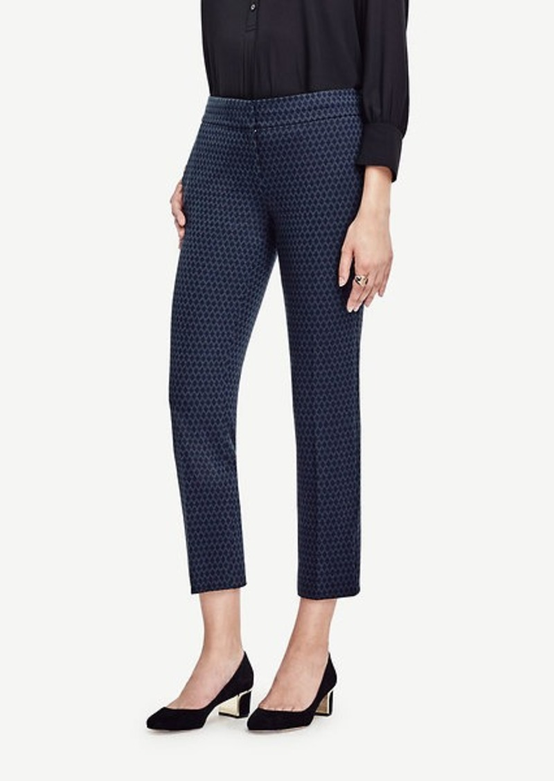 Ann Taylor Devin Diamond Everyday Ankle Pants