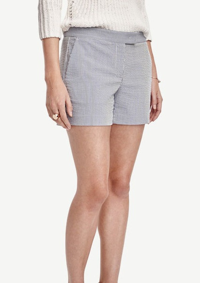 Ann Taylor Devin Seersucker City Shorts