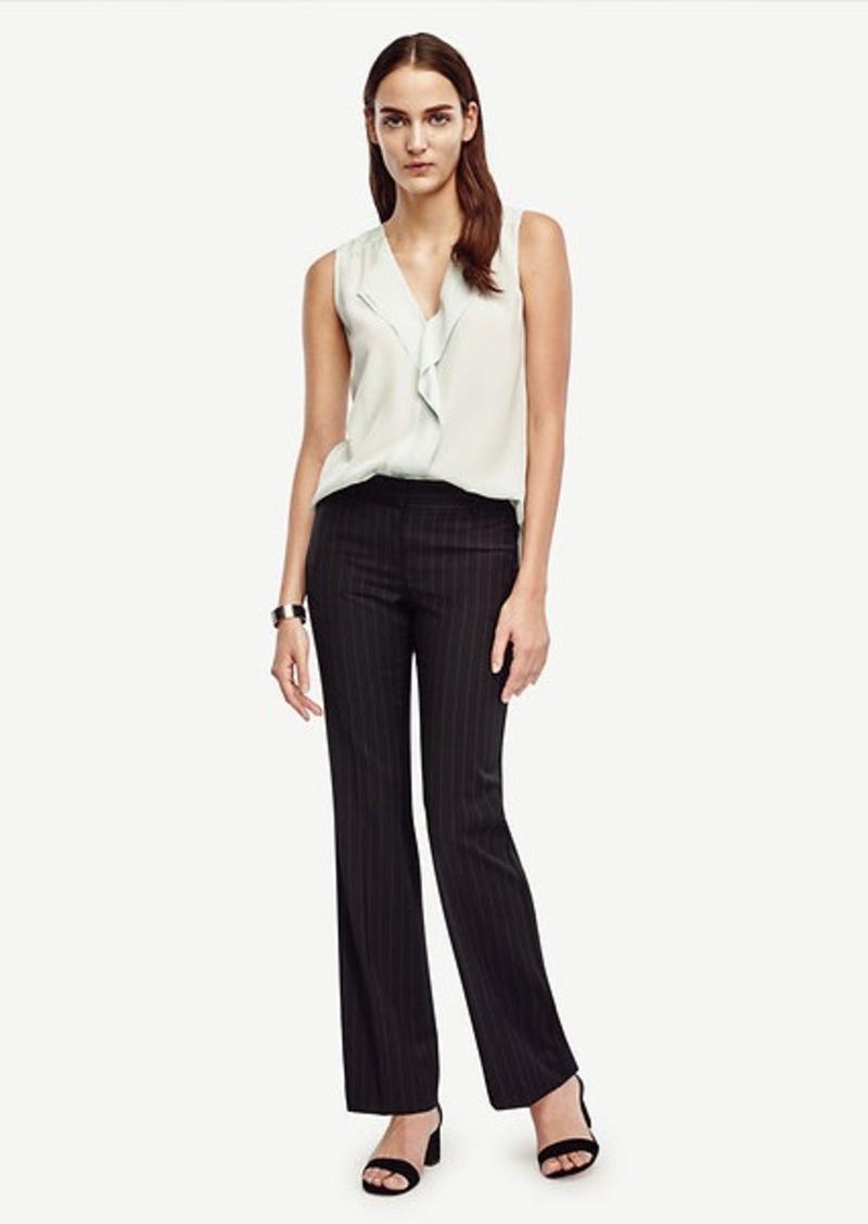 Ann Taylor Devin Wool Pinstripe Trousers