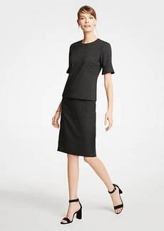 Ann Taylor Dobby Pencil Skirt