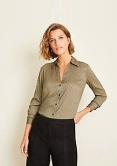 Ann Taylor Dot Essential Shirt
