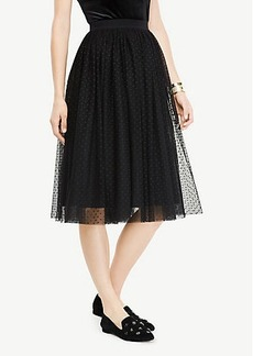 Ann Taylor Dotted Tulle Skirt