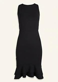 Ann Taylor Double Ruffle Sheath Dress