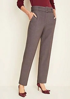 Ann Taylor Doubleweave Belted Pants