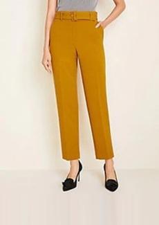 Ann Taylor Doubleweave Belted Pants