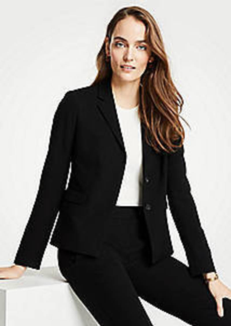 Ann Taylor The Tuxedo Blazer in Doubleweave