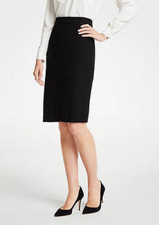 Ann Taylor Doubleweave Pencil Skirt