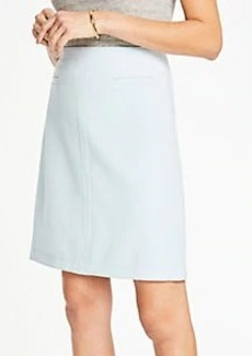 Ann Taylor Doubleweave Pocket Skirt