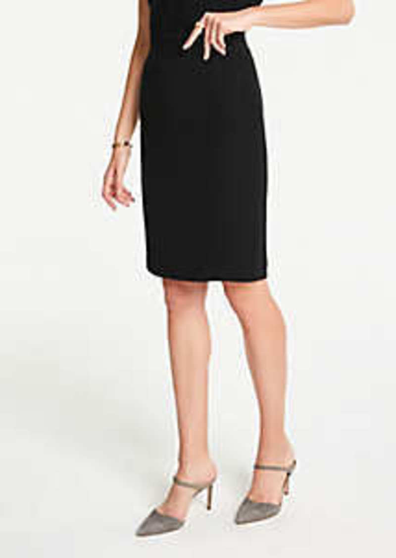 Ann Taylor Pencil Skirt in Doubleweave