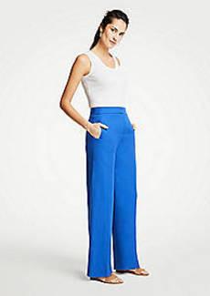 Ann Taylor Drapey Full Length Pants