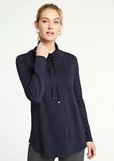 Ann Taylor Drawstring Neck Sweatshirt