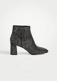 Ann Taylor Eden Studded Heeled Booties