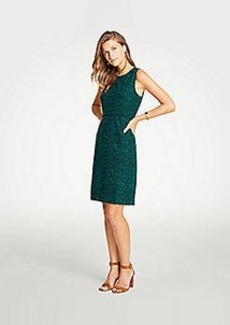 Ann Taylor Embroidered Lace Sheath Dress