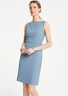 Ann Taylor Embroidered Trim Sheath Dress