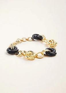 Ann Taylor Enamel Chain Bracelet