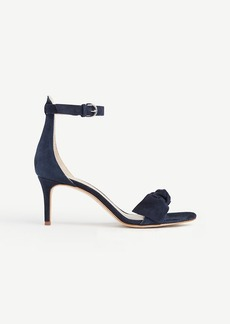 Erica Suede Bow Sandals