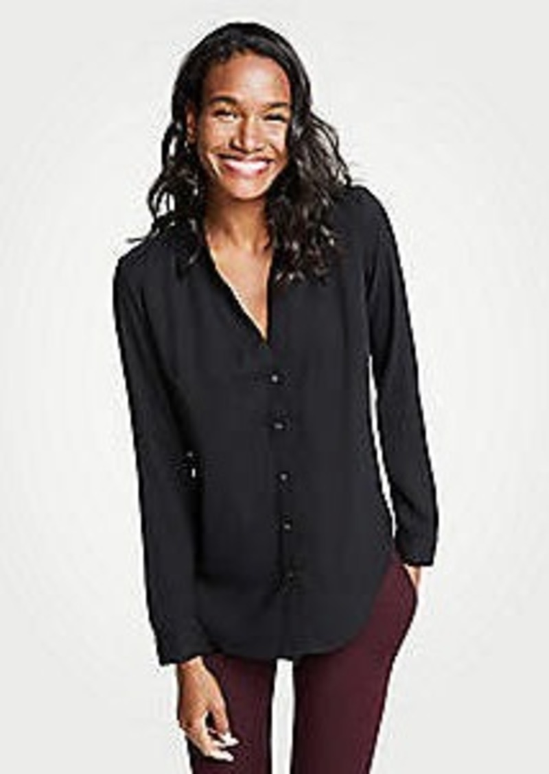 Ann Taylor Essential Button Down Blouse