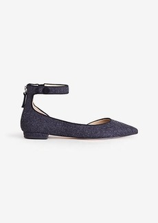 Evana Flannel D'Orsay Flats
