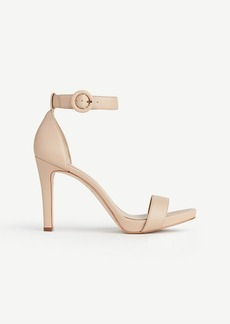 Eveline Leather Ankle Strap Sandals