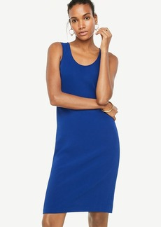 Exposed Back Zip Sheath Dress