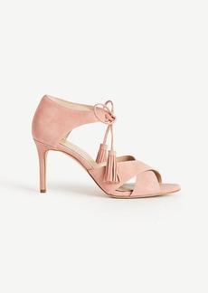Ezra Suede Tassel Sandals
