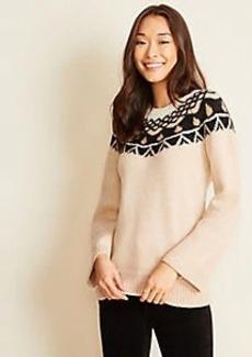 Ann Taylor Fairisle Sweater