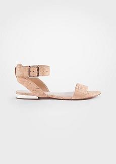 Ann Taylor Farrah Cork Flat Sandals