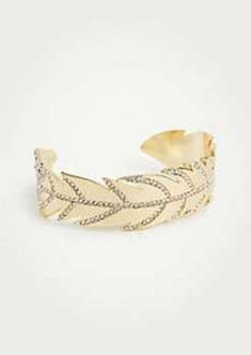 Ann Taylor Feather Cuff Bracelet