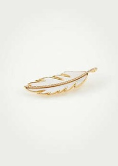 Ann Taylor Feather Pin