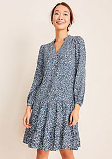 Ann Taylor Fiesta Dot Shift Dress